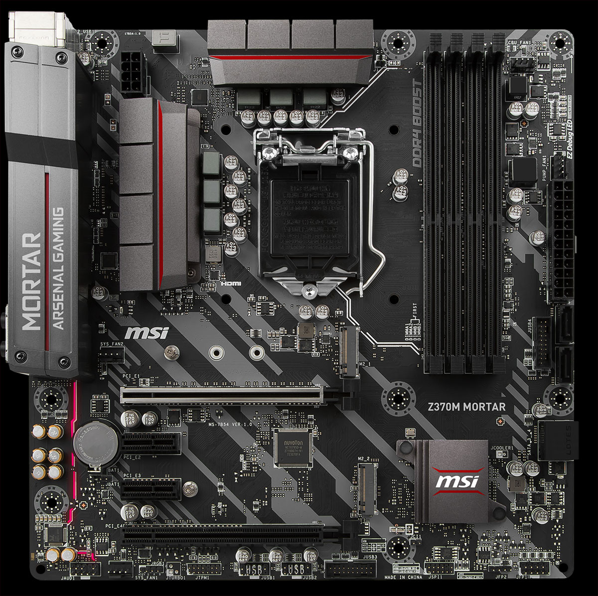 Msi-Z370-Mortar