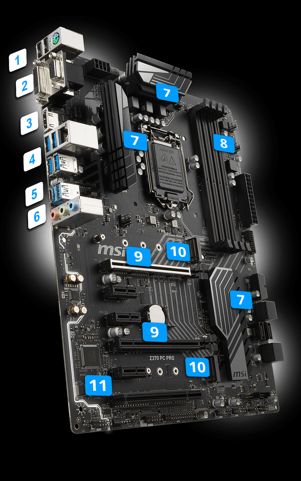 Z370 PC PRO | Motherboard - The world leader in motherboard design
