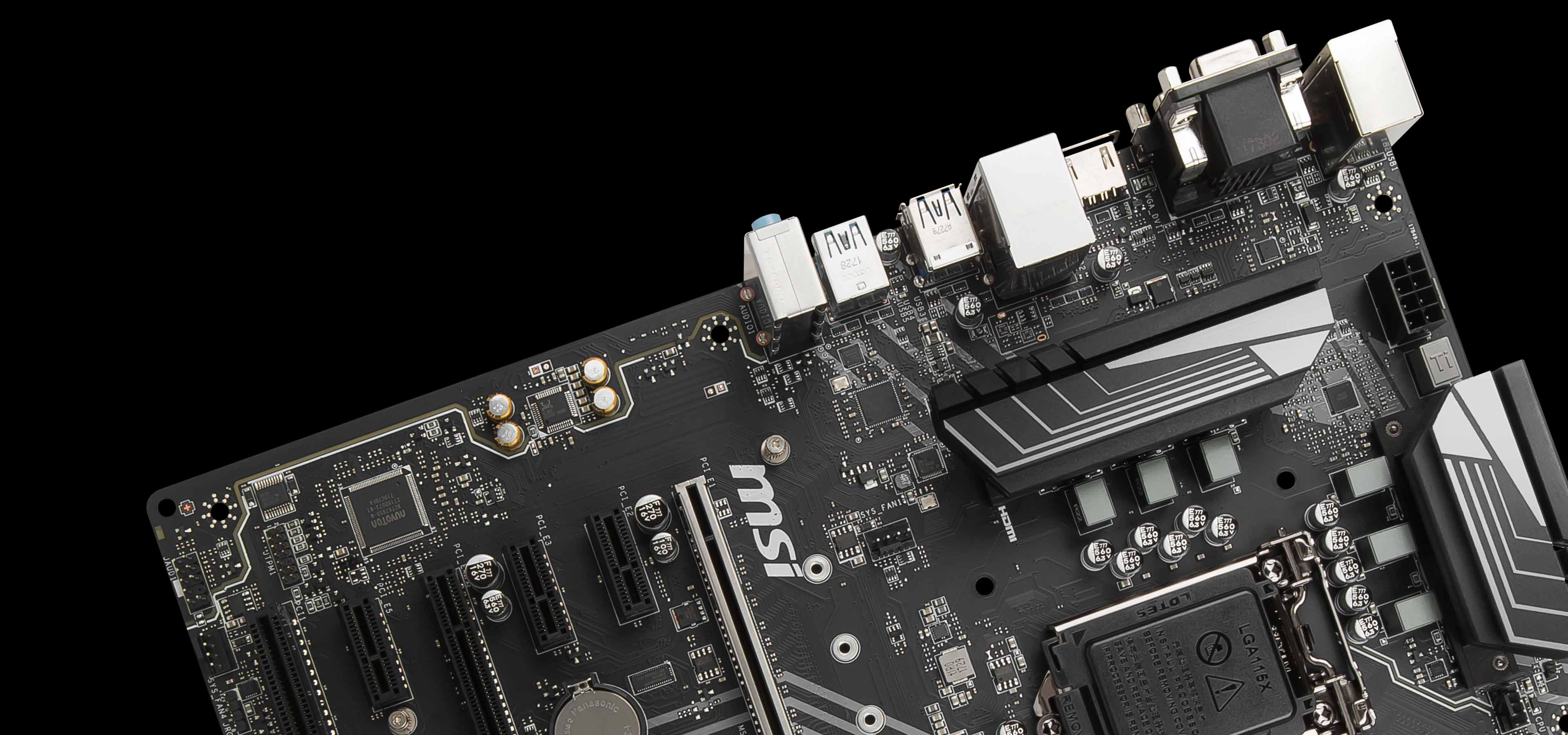 Z370 PC PRO | Motherboard - The world leader in motherboard