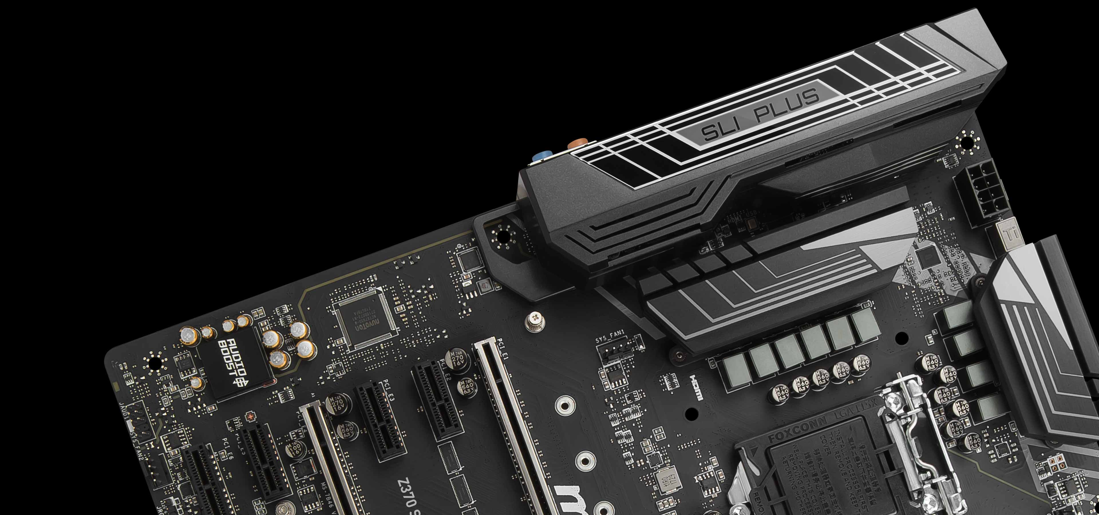 Z370 SLI PLUS | Motherboard - The world leader in