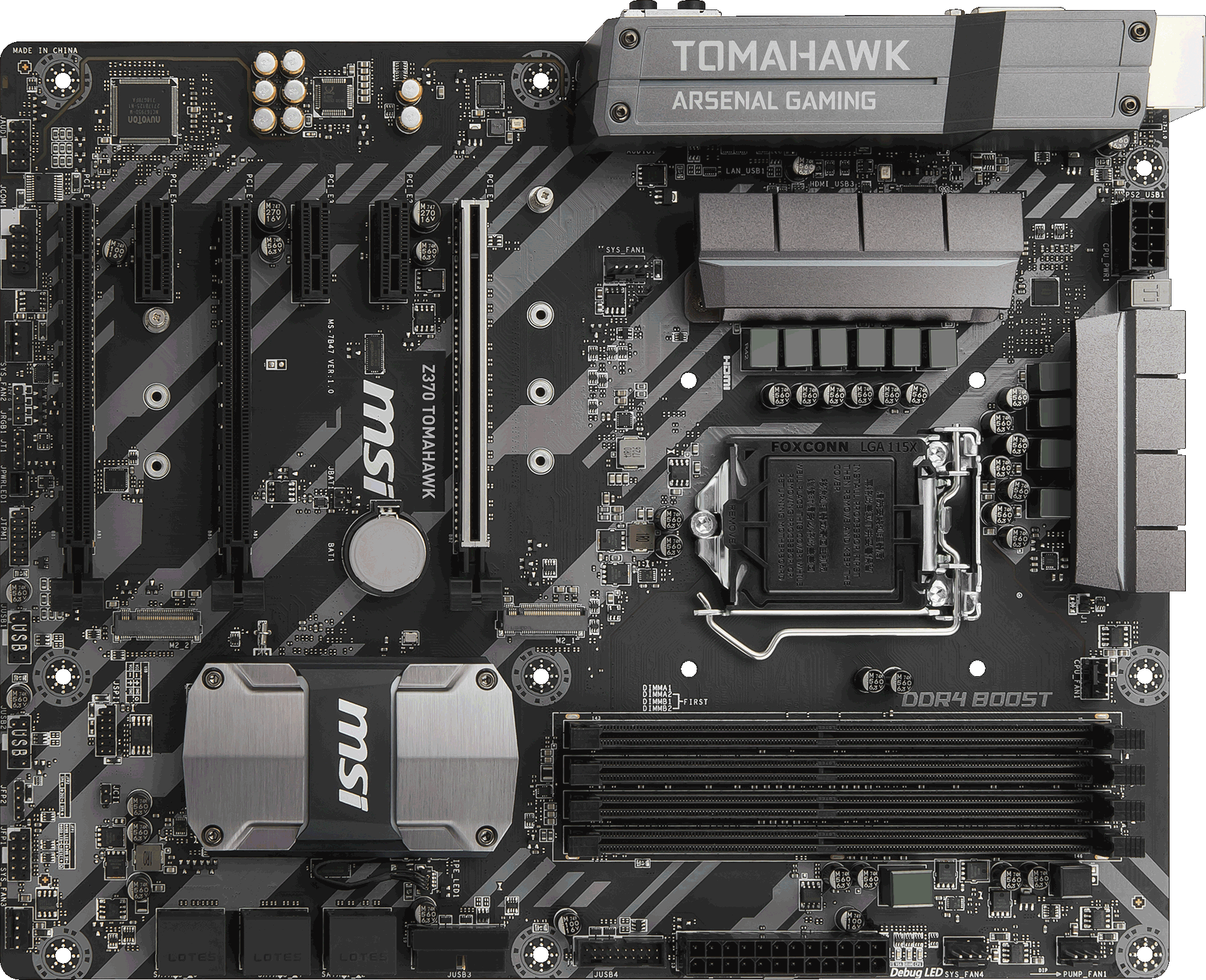 Z370 TOMAHAWK | Motherboard - The world leader in