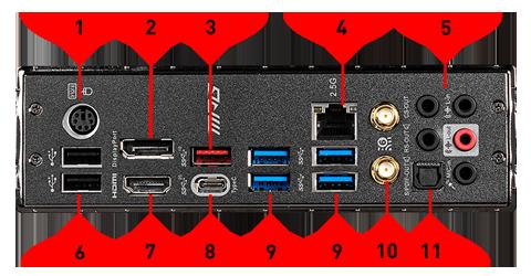 MEG Z490 edge wifi
