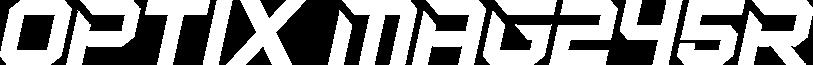 MSI Optix MAG245R text logo