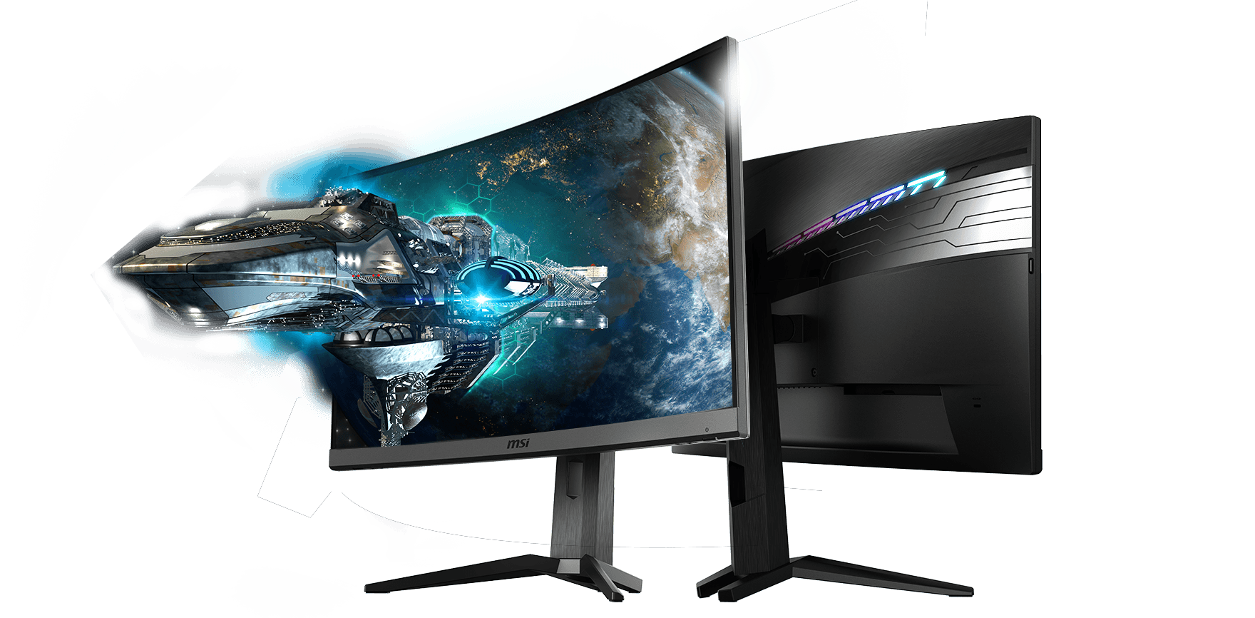 מסך גיימינג MSI Optix MAG272CQR 165Hz