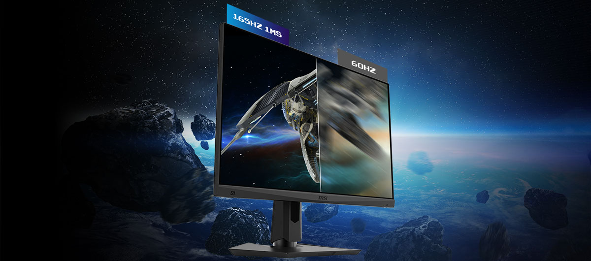 144HZ REFRESH RATE + 1MS