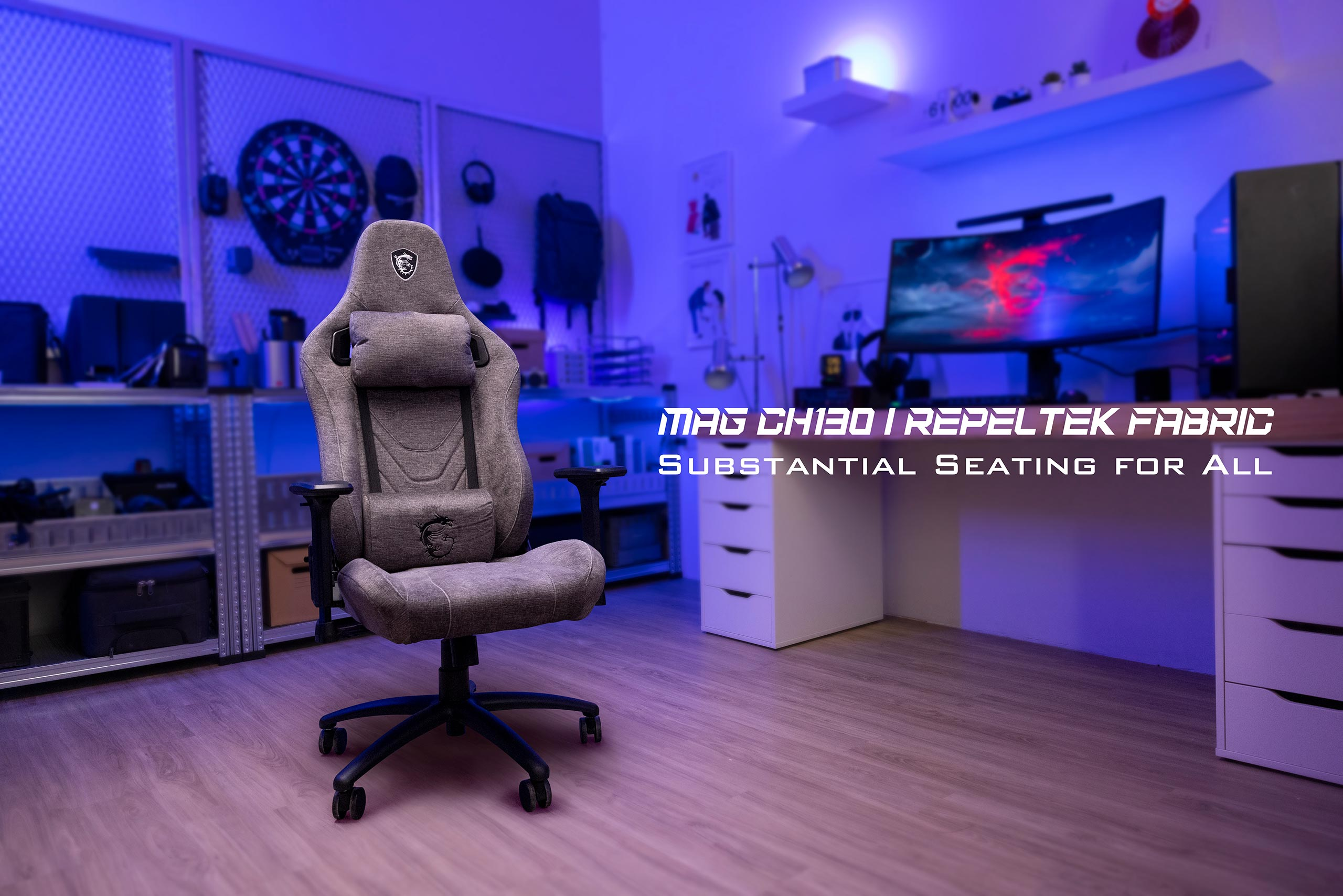 MAG CH130 X REPELTEK FABRIC