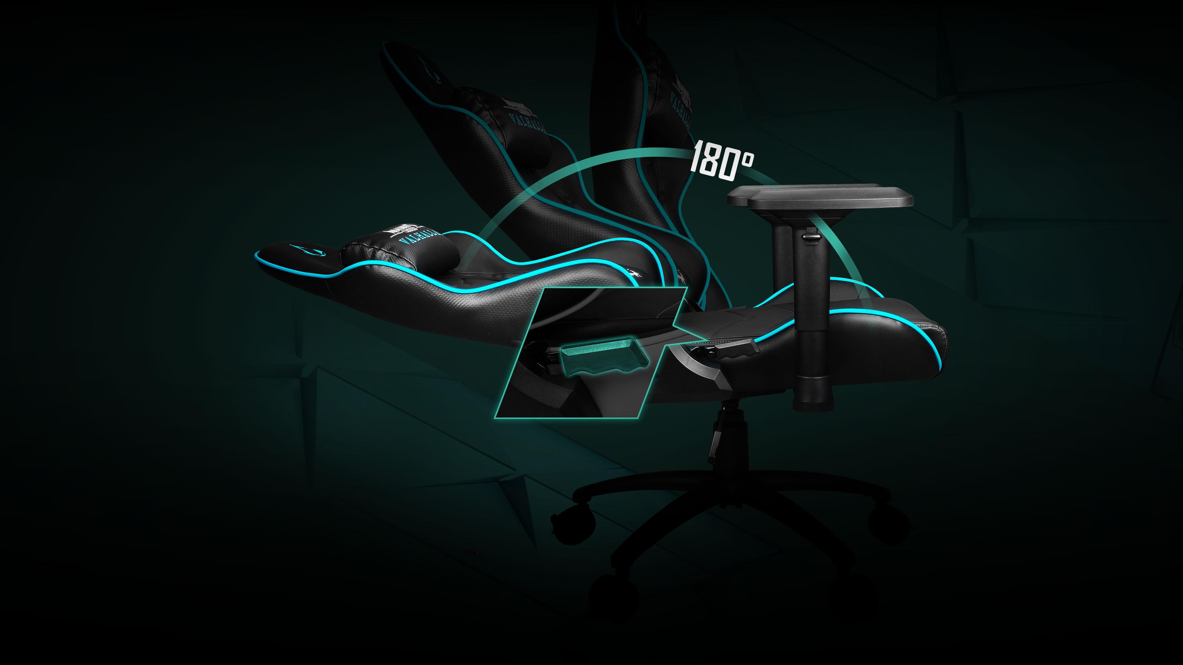 180° reliable backrest
