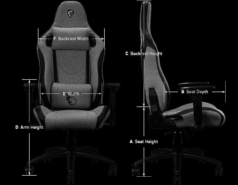 180° tabPage backrest