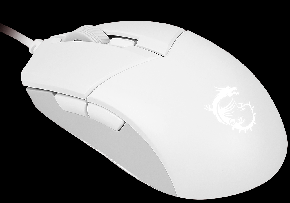 msi gm11 white mouse
