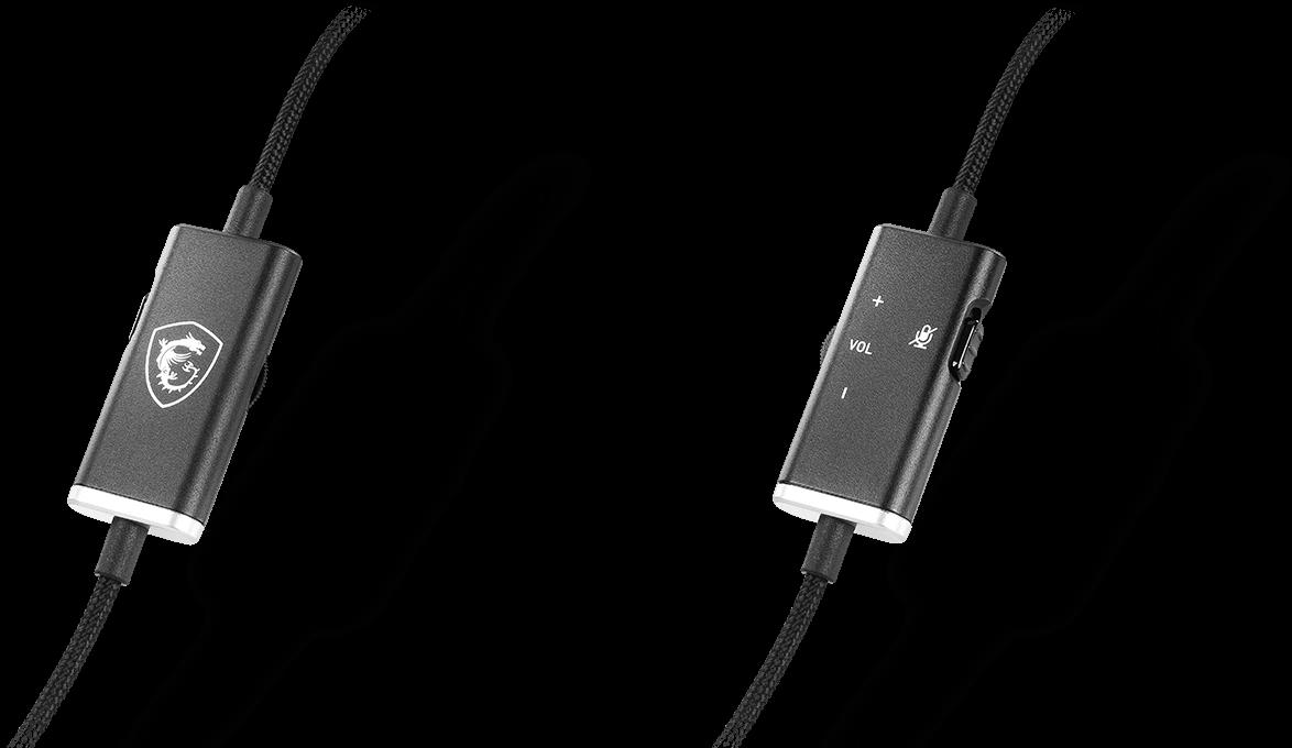Msi GH20 heaset volume controller