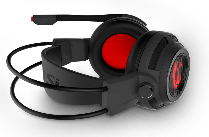 722f8bfb375 DS502 GAMNING Headset is comfortable on your head and ears for extended  gaming sessions. Its fully adjustable headband and closed ear cups with  plush ...