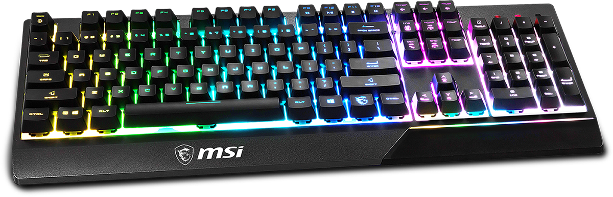 MSI VIGOR GK30 Gaming Keyboard - RGB Lighting Effects