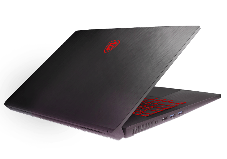 msi GF75 thin laptop