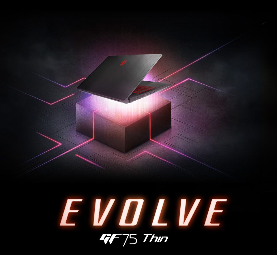 GE75 Thin - EVOLVE - Be Enchanted with the Dragon Spirit