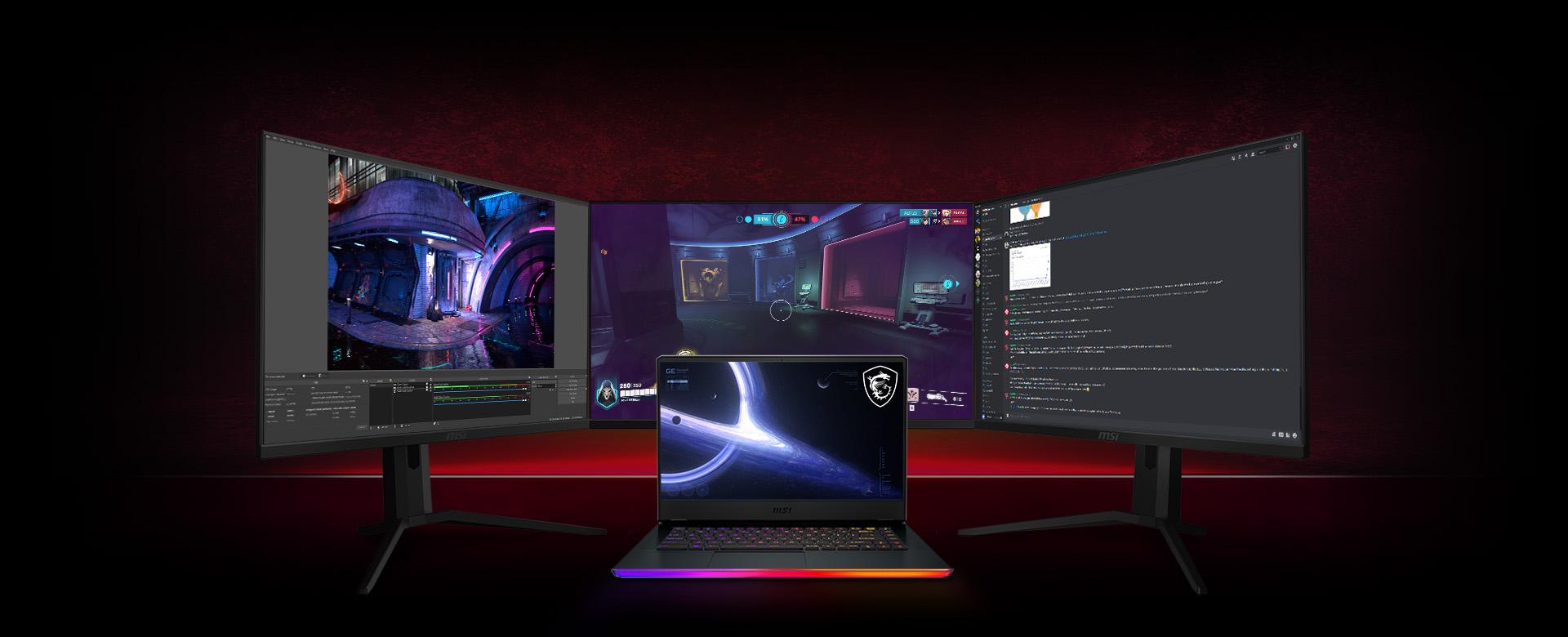 MSI ge - Matrix Display