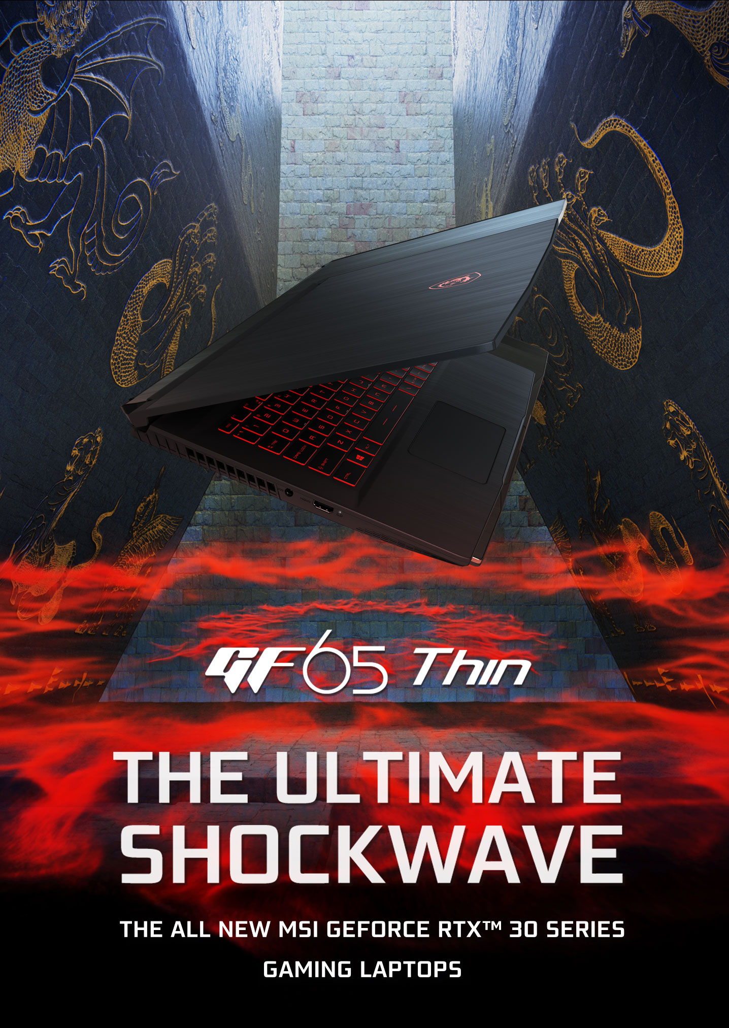 GF65 thin The ultimate shockwave