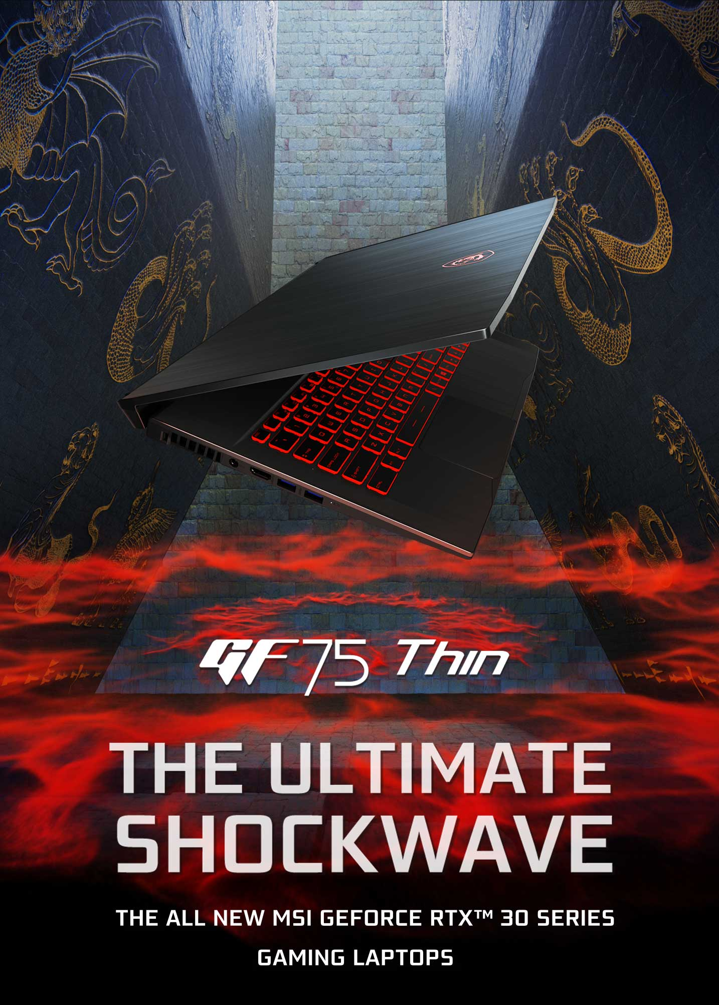 GF75 Thin - The ultimate shockwave