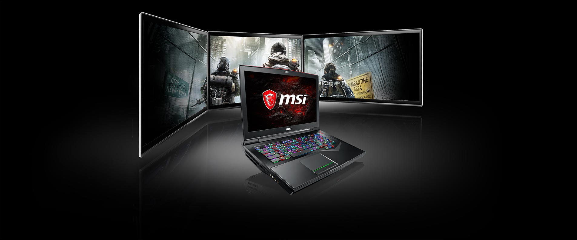 msi gf75 multi display