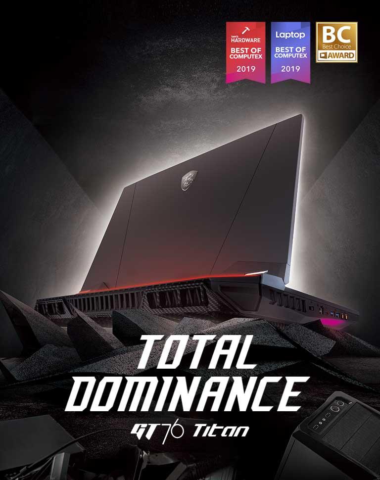 MSI GT76 Titan – Total Dominance