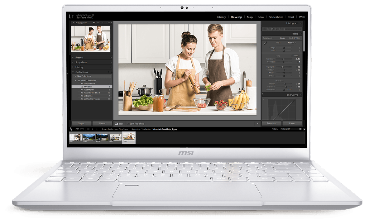 Edit and organize photos more quickly and easily with incredible power.