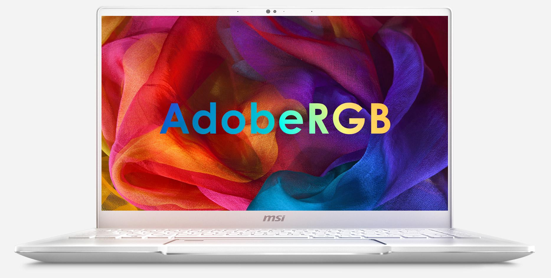 100% AdobeRGB