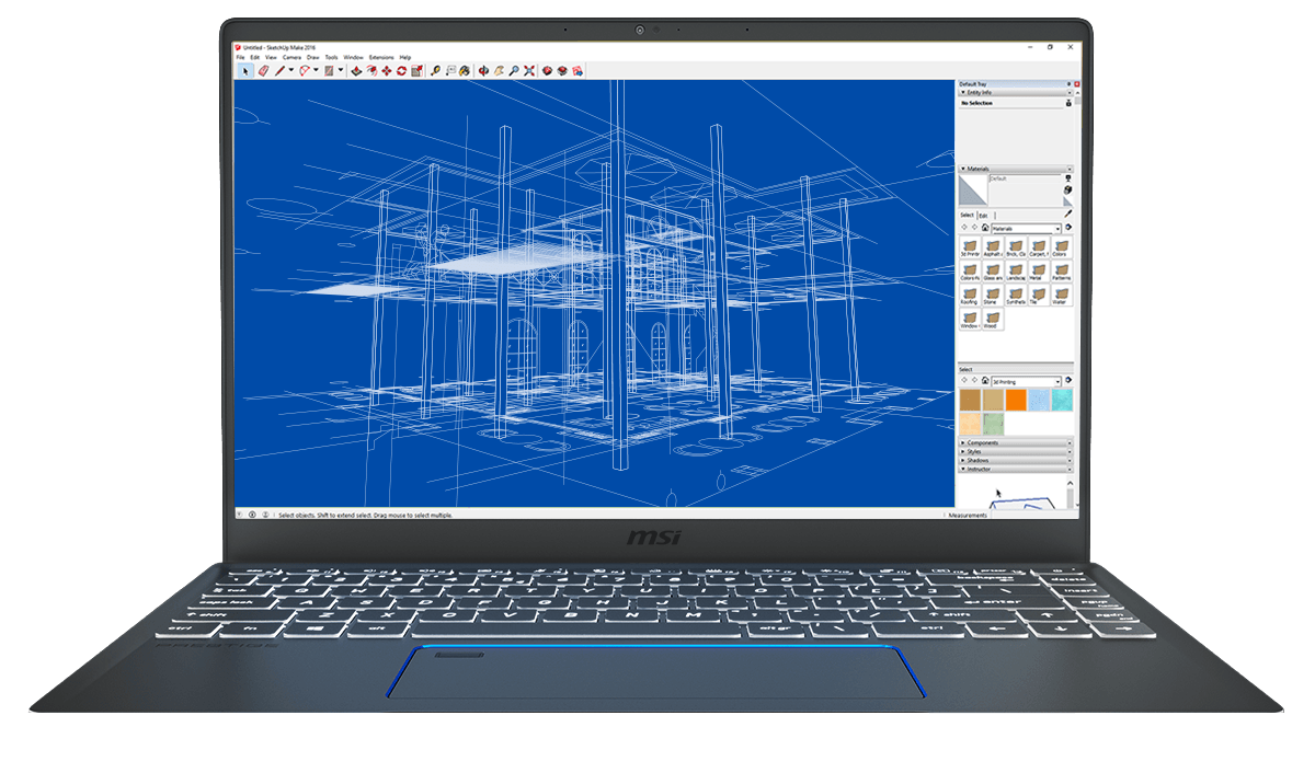 Enjoy smooth real-time rendering with Sketchup and other 3D applications