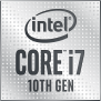 Powered by 10th Gen Intel® Core™ i7 processors