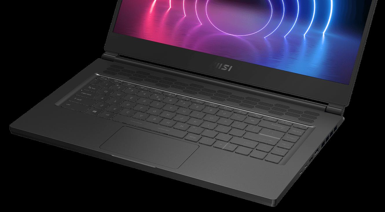 Stealth15M RGB keyboard