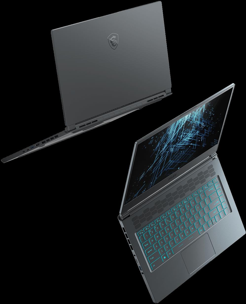 msi stealth 15m light laptop