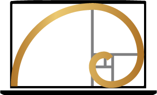 golden ratio display icon