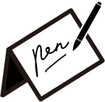 pen support icon