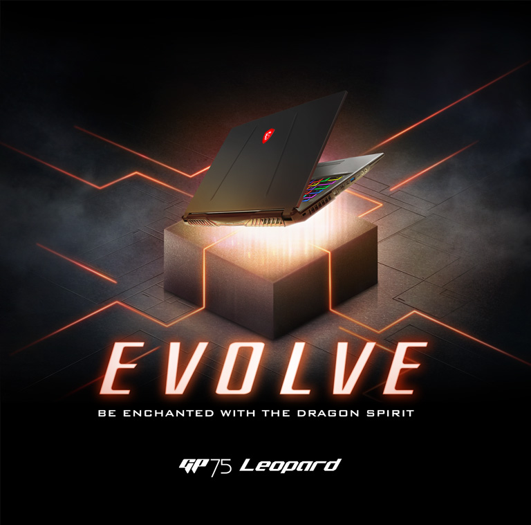GP75 - EVOLVE - Be Enchanted with the Dragon Spirit
