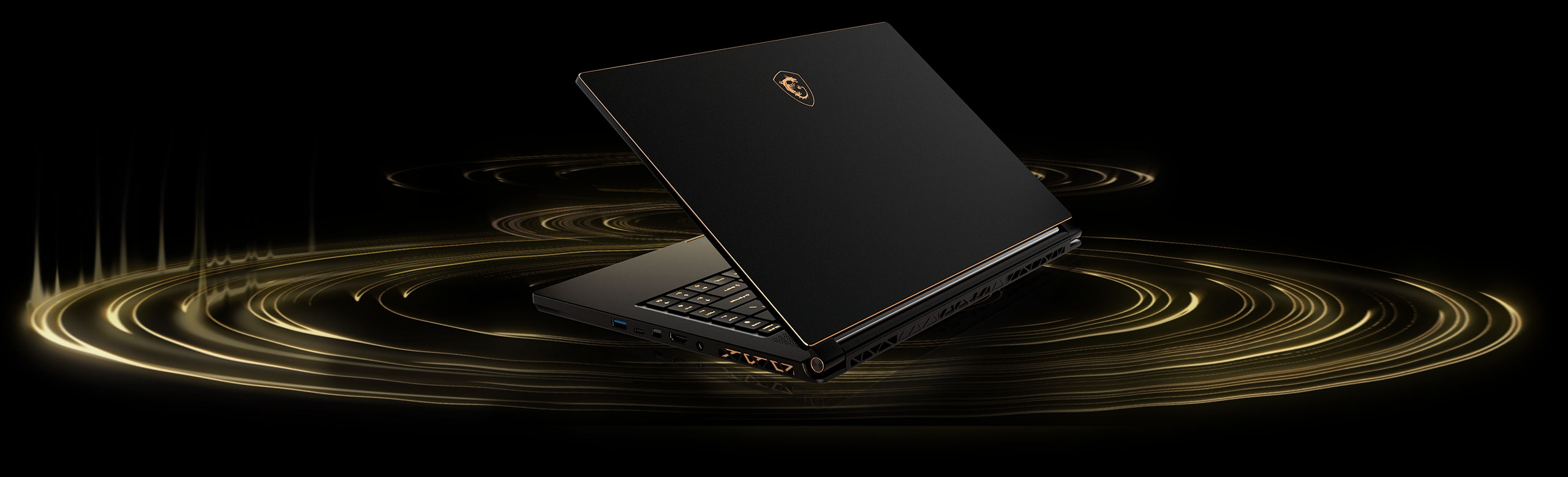 لپ تاپ 15 اینچی ام اس آی مدل MSI laptop GS65 8RF Stealth Thin