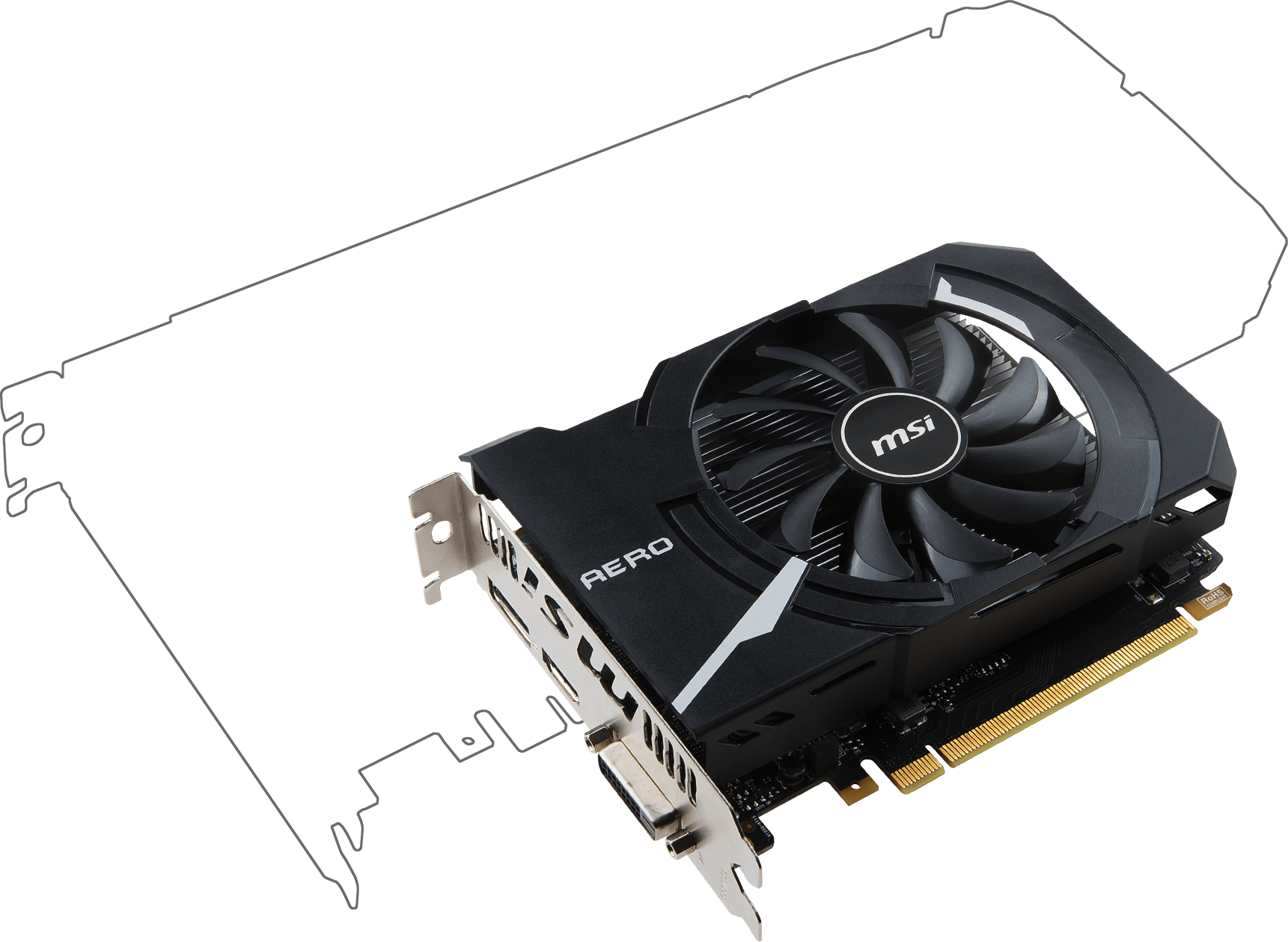 Radeon RX 560 AERO ITX 4G OC | Graphics card - The world