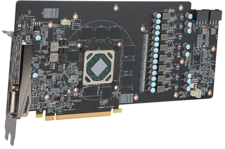 Radeon RX 580 GAMING X+ 8G | Graphics card - The world