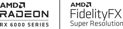 AMD Radeon and amd FidelityFX logo