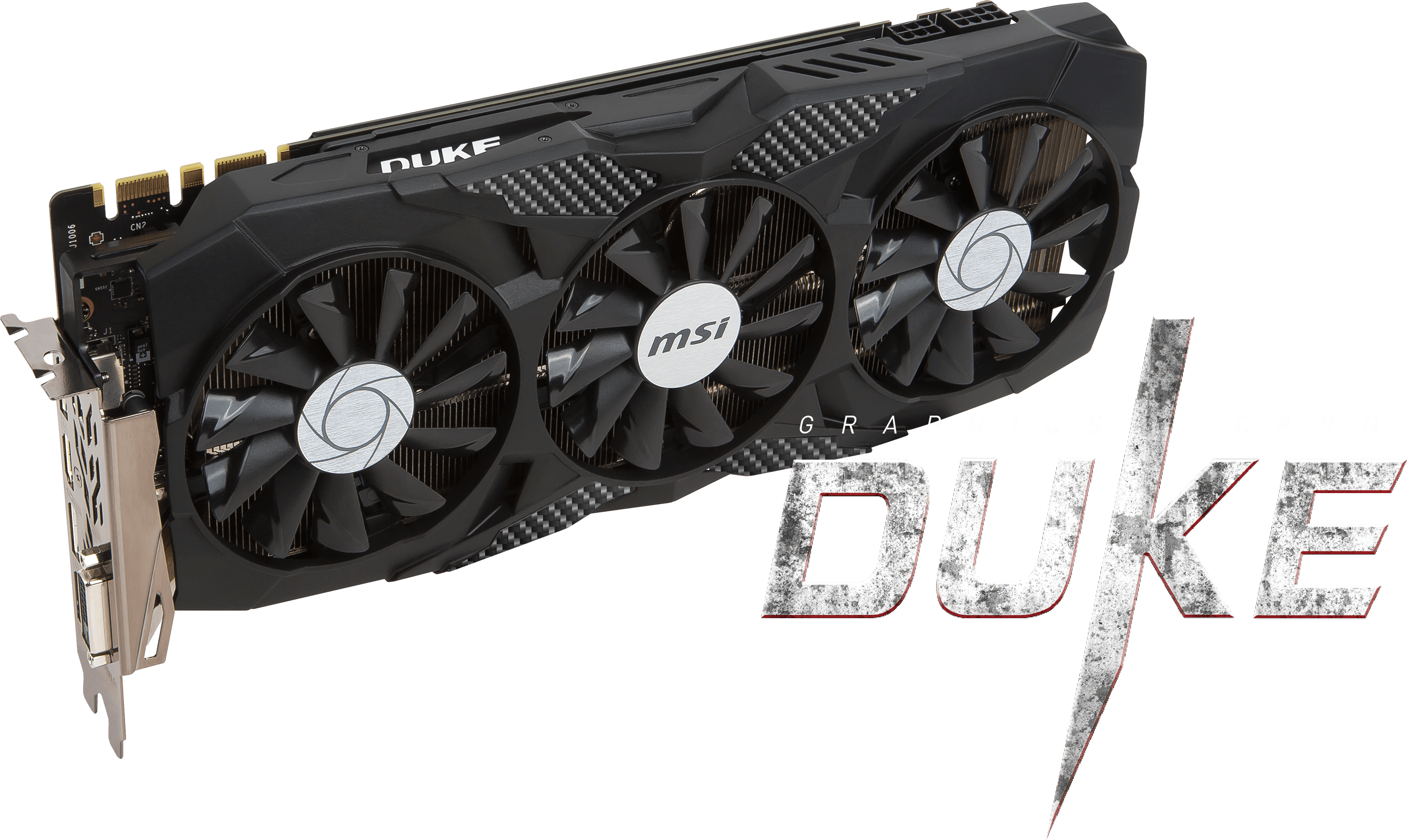GeForce GTX 1070 Ti DUKE 8G | Graphics card - The world leader in