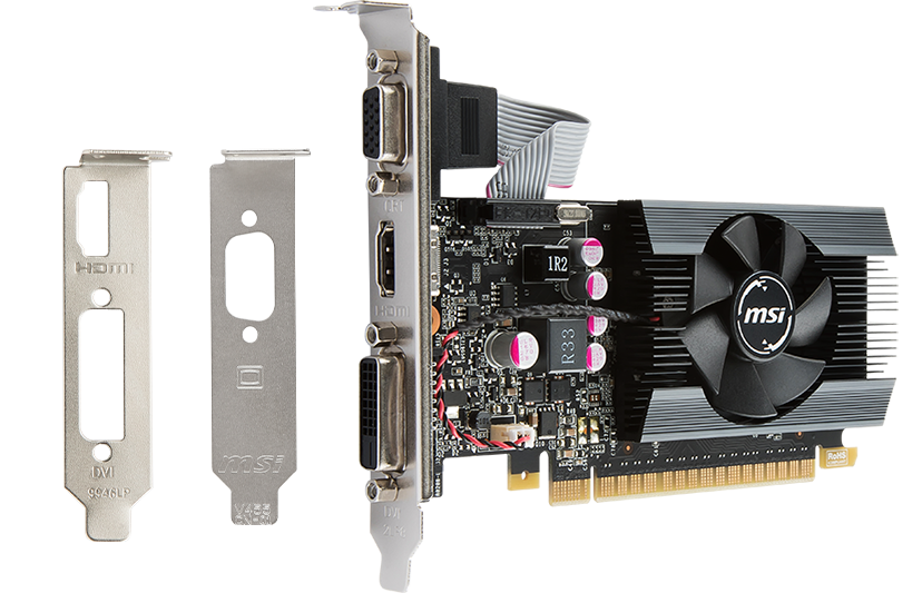 MSI GT 710 2GD3H LP Graphics Card