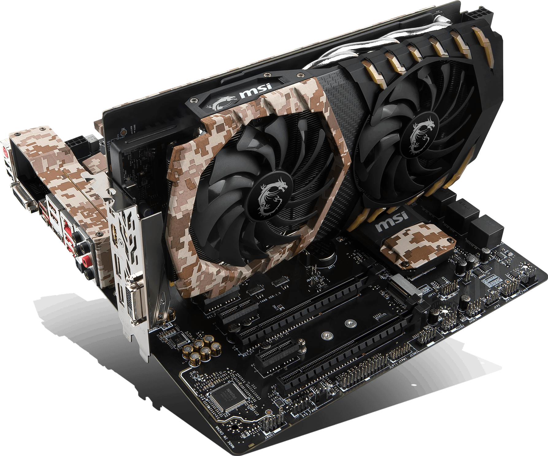 GeForce GTX 1060 Camo Squad 6G | Graphics card - The world leader in