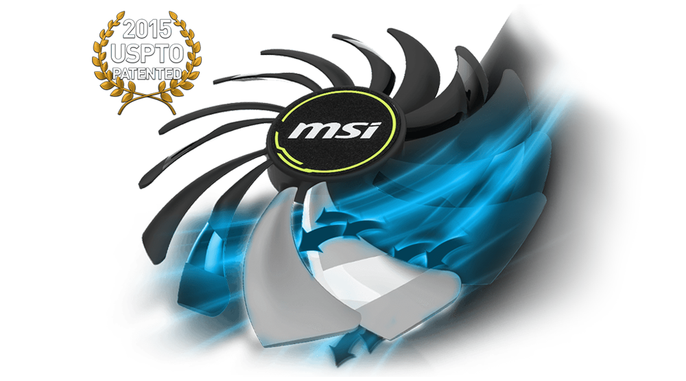 msi ventus fan air pressure