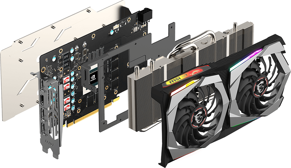 GTX 1660 Ti twin frozr
