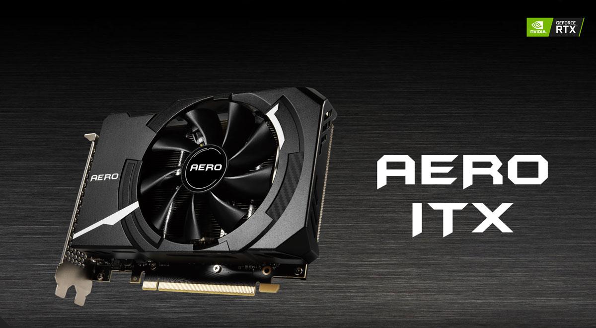 GeForce RTX 3060 Ti AERO ITX