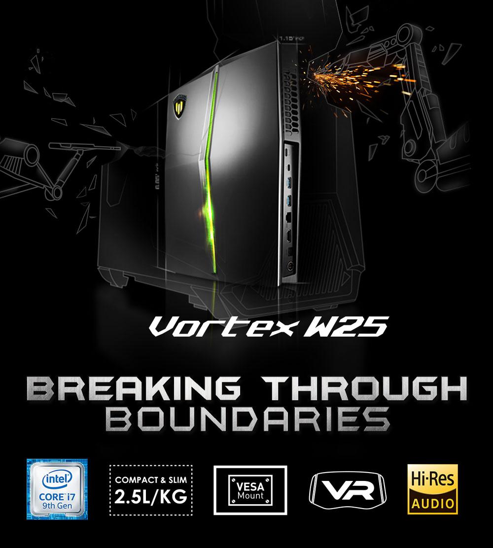 MSI Vortex W25 – Breaking through boundaries