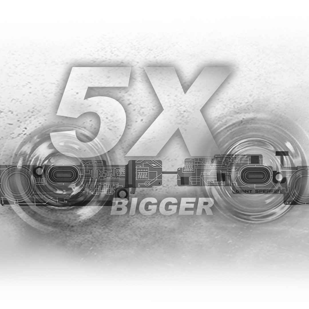 we65 giant speaker mobile
