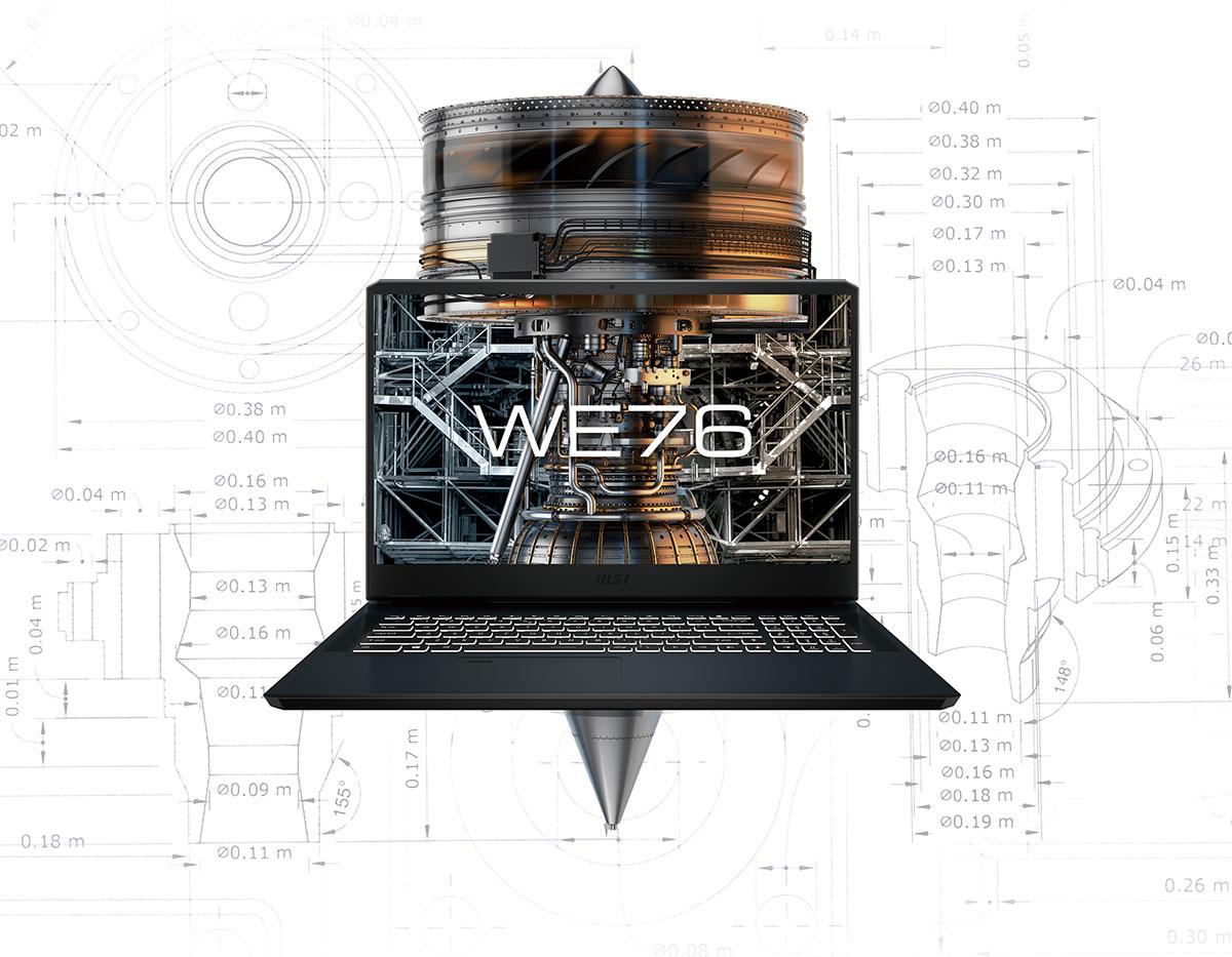 we76 workstation