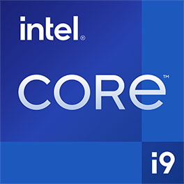Powered by 11th Gen Intel ® Core™ i9 processors