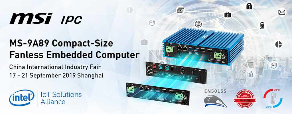 MSI IPC will showcase its Robust, Expandable Fanless