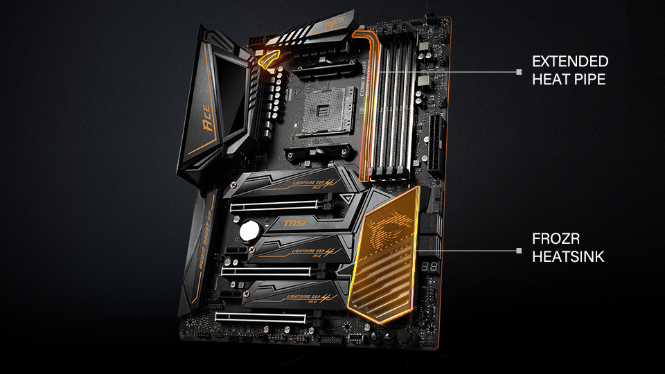 MSI X570 Motherboards Roll Out: The Best Thermal and WiFi Networking