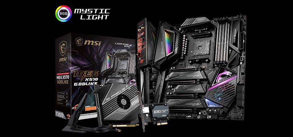 MEG X570 GODLIKE Motherboard