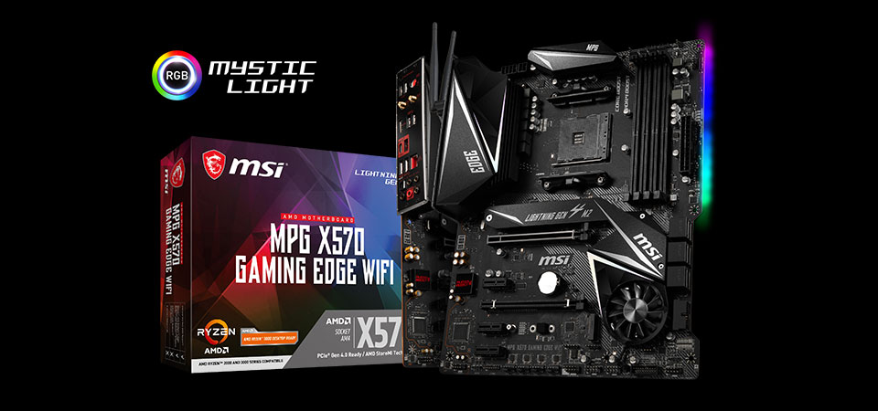 MPG X570 GAMING EDGE WIFI Motherboard
